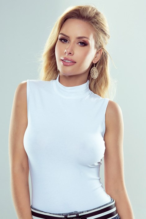 Eldar Dámské bavlněné tričko Emmi bílá S