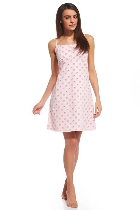 Cornette Dámská noční košile Emy růžová M