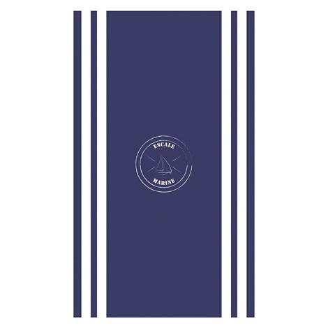 Mora Mora Plážová osuška Escale Marine modra 100x170