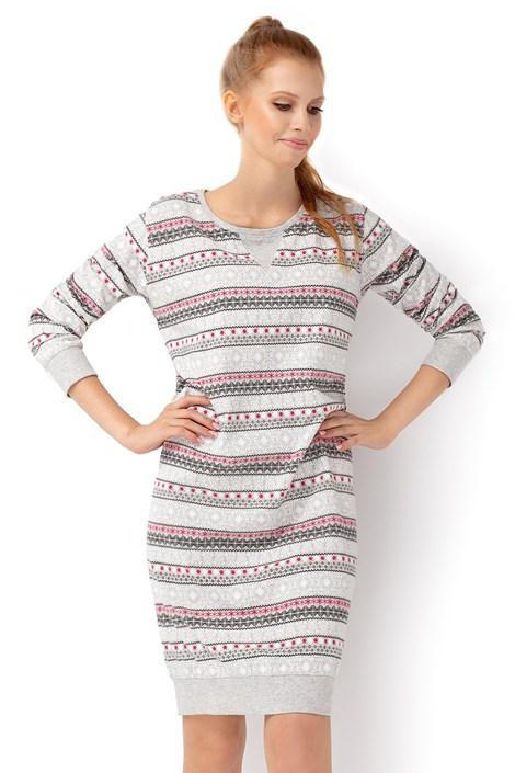 Envie Dámská noční košilka Eskimo vícebarevné XL