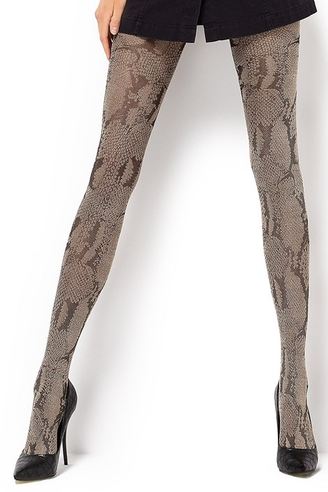 MONA Vzorované punčochové kalhoty Estera 60 DEN barevná S