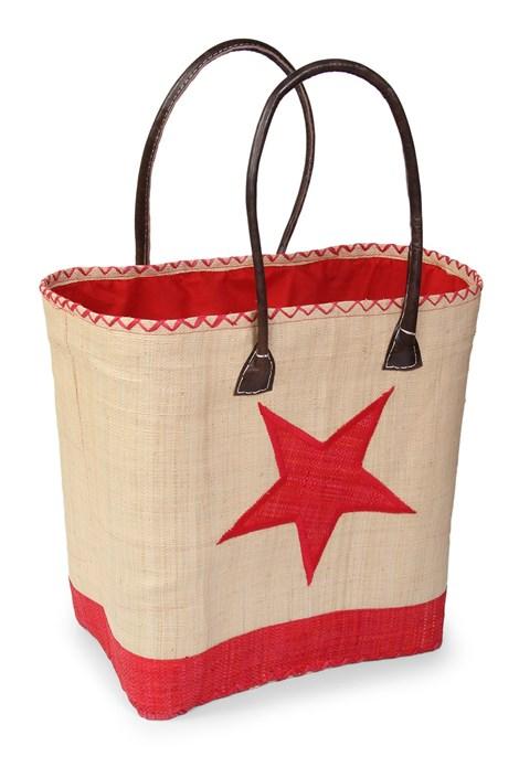 Le Comptoir De La Plage Velká plážová taška Estrella červená uni
