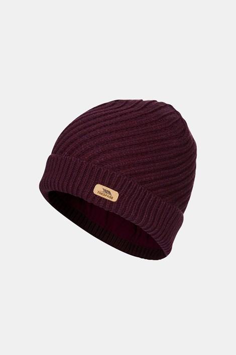 Dámská fialová čepice Twisted