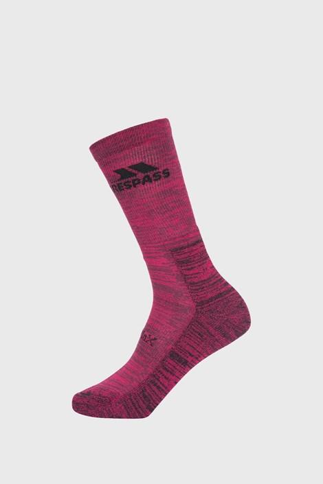 Dámské fialové ponožky Leader Eco
