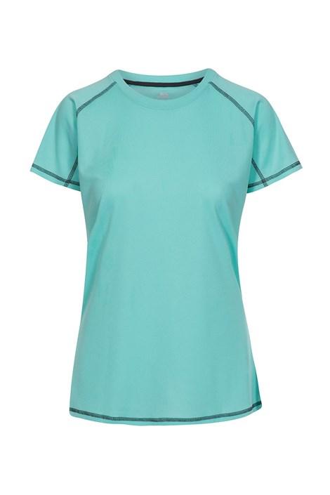 Trespass Dámské tričko Viktoria tyrkysová XS