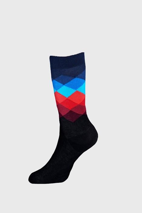 Happy Socks Ponožky Happy Socks Faded Diamond černá 41-46