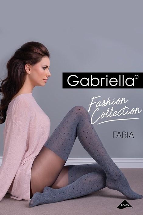 Gabriella Punčochové kalhoty Fabia šedá 5