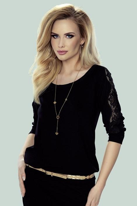 Eldar Dámské tričko Fabia černá XL