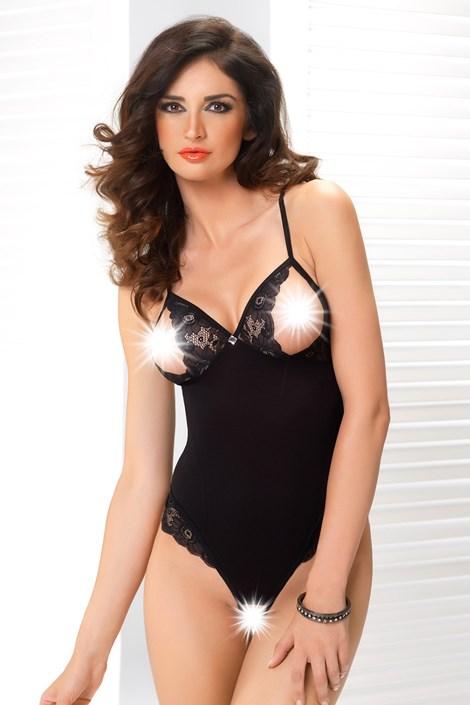 Irall Svůdné body Felicity černá XL