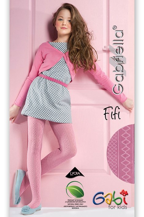 Βαμβακερό καλσόν για κορίτσια Fifi