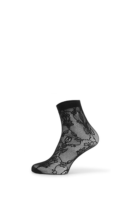 Gatta Síťované ponožky Fishnet IV černá uni