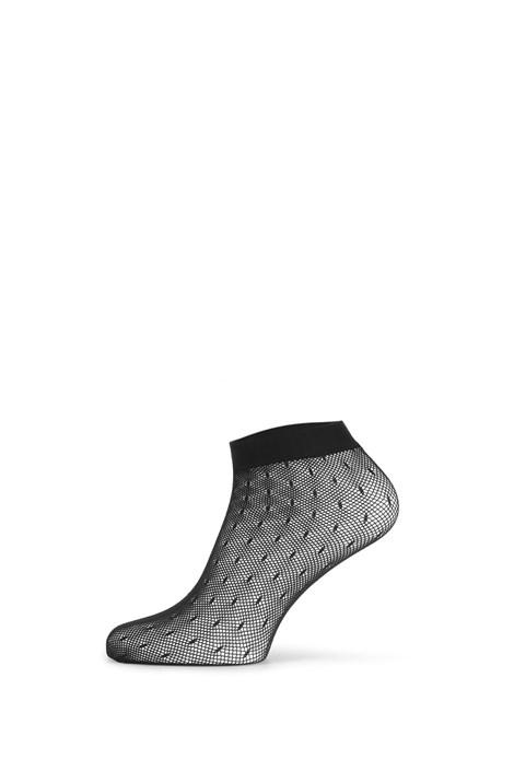 Gatta Síťované ponožky Fishnet II černá uni