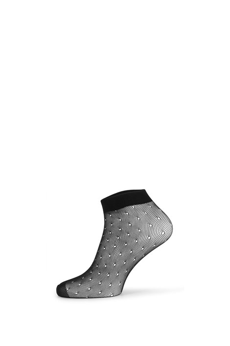 Gatta Síťované ponožky Fishnet černá uni