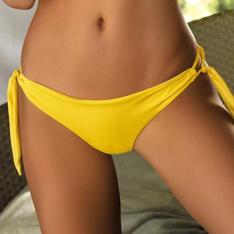 Etna Spodní díl plavek Melanie žlutá 42