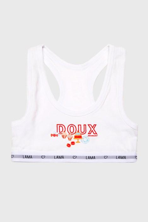 Lama Dívčí top Doux bílá 158/164