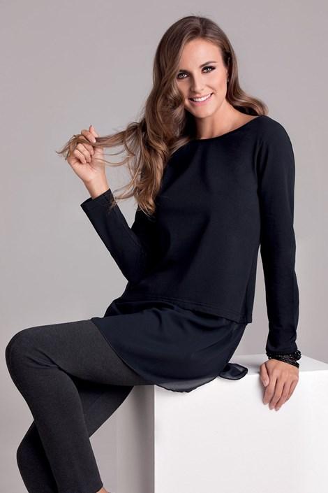 COTONELLA Dámské tričko Argela černá L