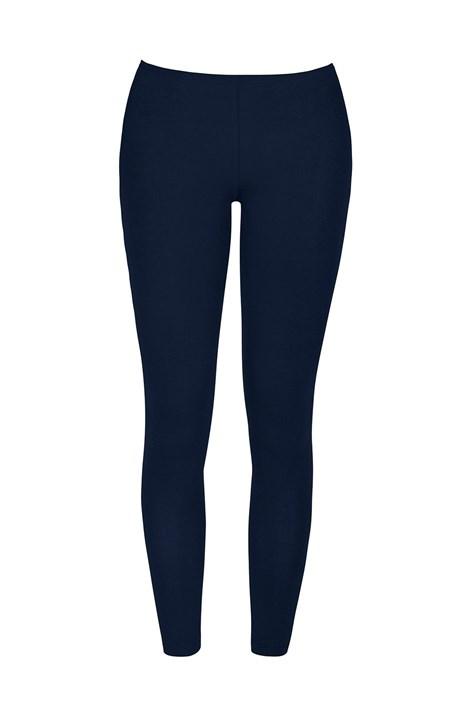 COTONELLA Dámské bavlněné legíny Odette modrá XL