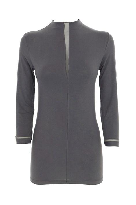 COTONELLA Dámské tričko Cora tmavěšedá XL