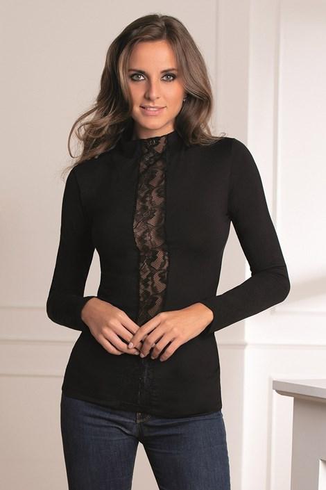 COTONELLA Dámské tričko Nana černá XL