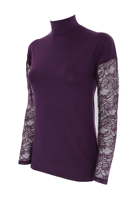 COTONELLA Dámské tričko Belia fialová XL