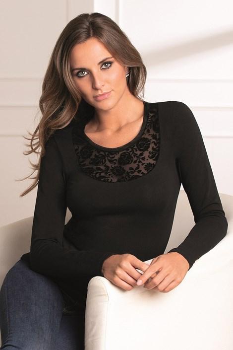 COTONELLA Dámské tričko Zola černá XL