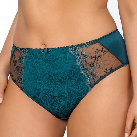 Gaia Kalhotky Salome klasické vyšší modrozelená S
