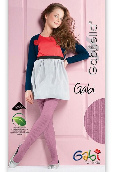Gabriella Dívčí punčochové kalhoty Gabi pastel 150-158
