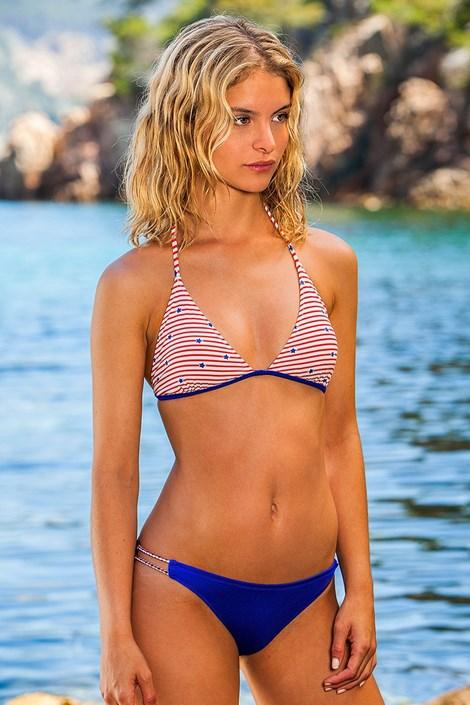 Bora Bora Dívčí plavky Duer modročervená 146