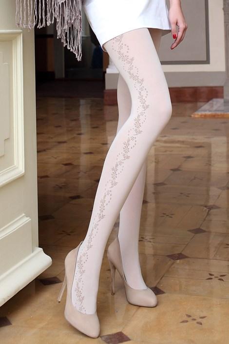 Ballerina Elegantní punčochové kalhoty Glamour Soft 148 béžová L/XL