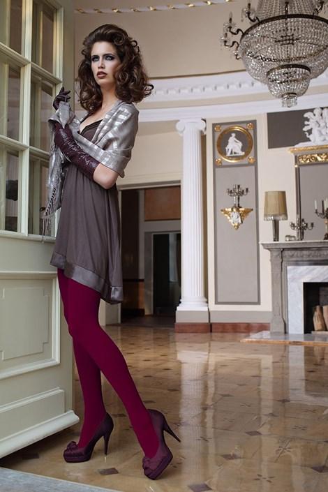 Ballerina Elegantní punčochové kalhoty Glamour Soft Bordó bordó S/M