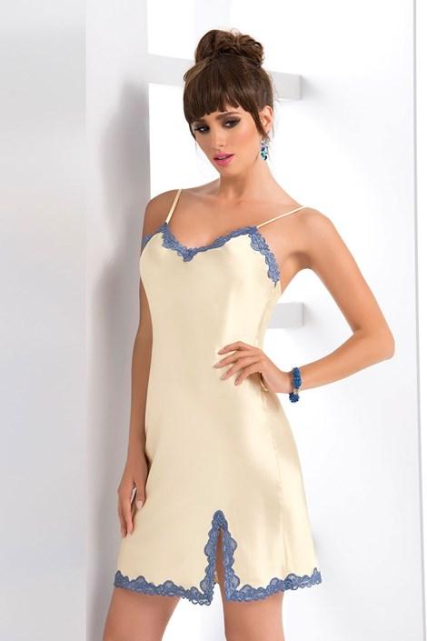 Irall Elegantní košilka Gloria cream cream XL