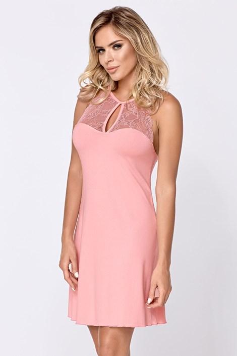 Hamana Dámská noční košilka Grace růžová růžová XL