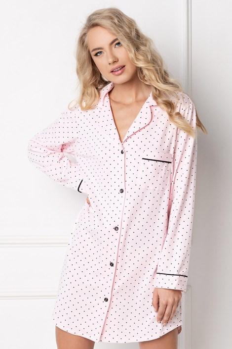 Aruelle Luxusní noční košika Grace růžová XL