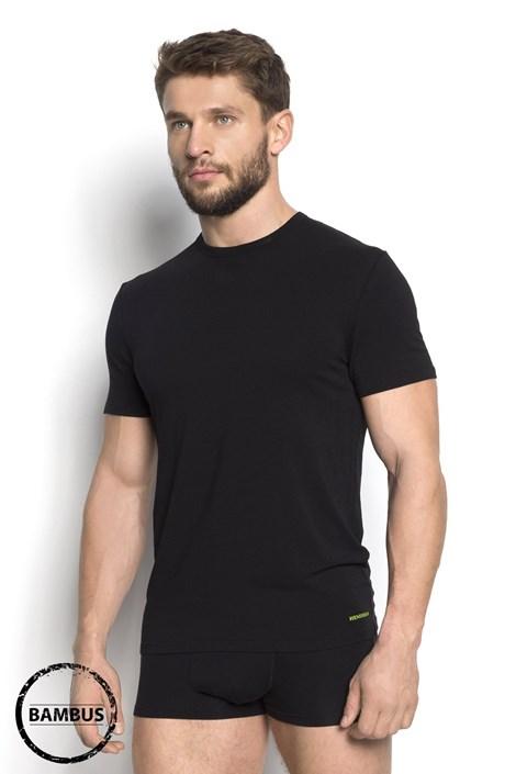 Henderson Pánské tričko HENDERSON Grade Bamboo 99 černá XL