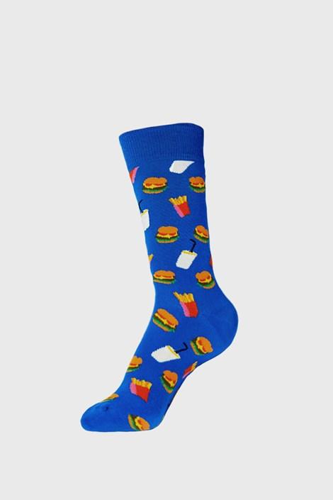 Happy Socks Ponožky Happy Socks Hamburger modrá 41-46