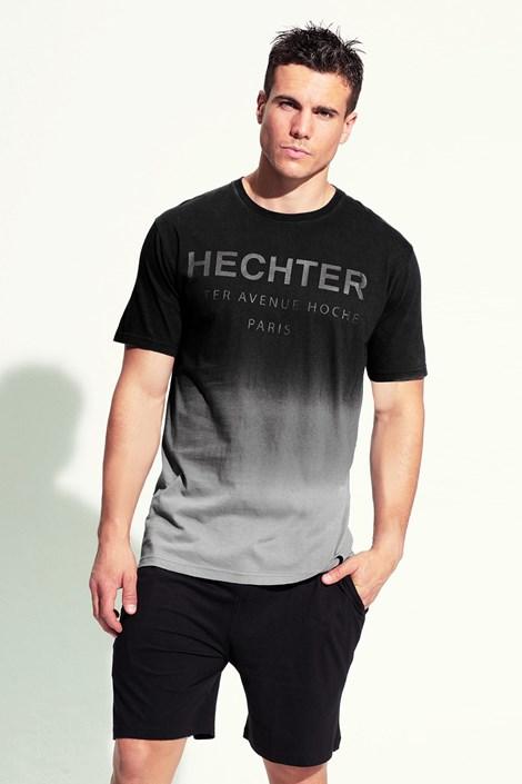 Hechter Pánské pyžamo Ecla krátké černá L