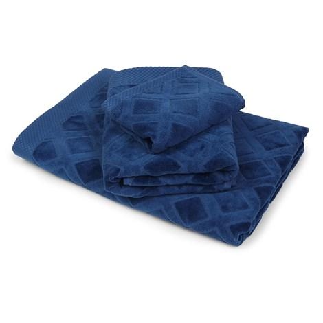 Bahar Velký ručník Charles modrý modra 50x90