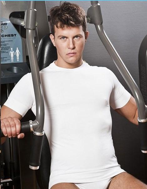 Pánské tričko HASTER Antibacterial Sport bezešvé