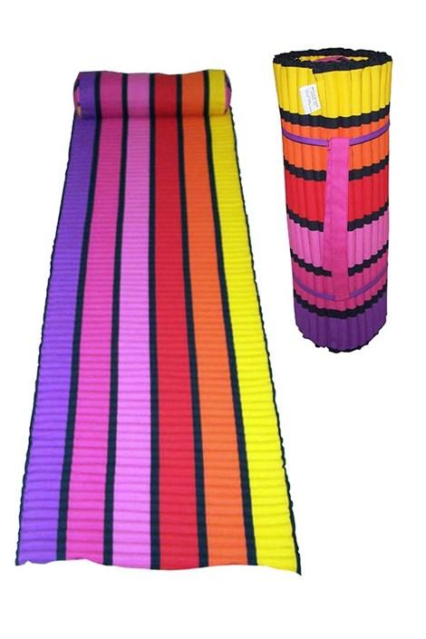 Le Comptoir De La Plage Plážová matrace Happy chic barevná 60x180