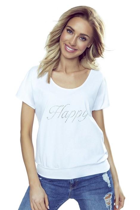 Eldar Dámské triko Happy bílá XL