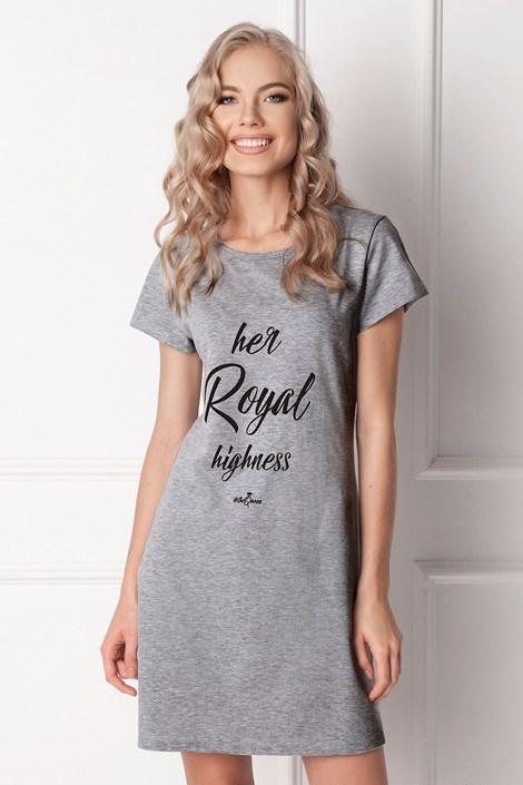 Aruelle Dámská noční košilka Highness šedá XL