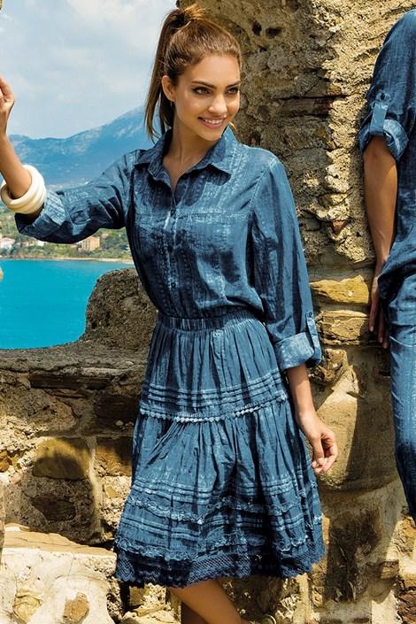Iconique Dámská plážová sukně Carmen z kolekce Iconique modrá L