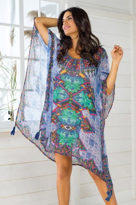 Iconique Dámské italské plážové šaty Iconique IC8109 barevná uni