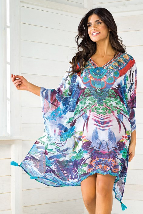 Iconique Dámské italské plážové šaty Iconique IC8110 barevná uni