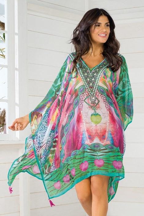 Iconique Dámské italské plážové šaty Iconique IC8115 barevná uni