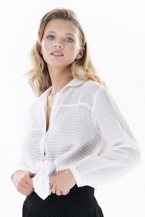 Iconique Dámská plážová košile Laura bílá L