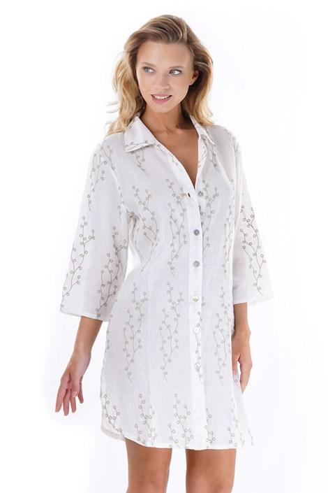 Iconique Dámská plážová košile Anna béžová S