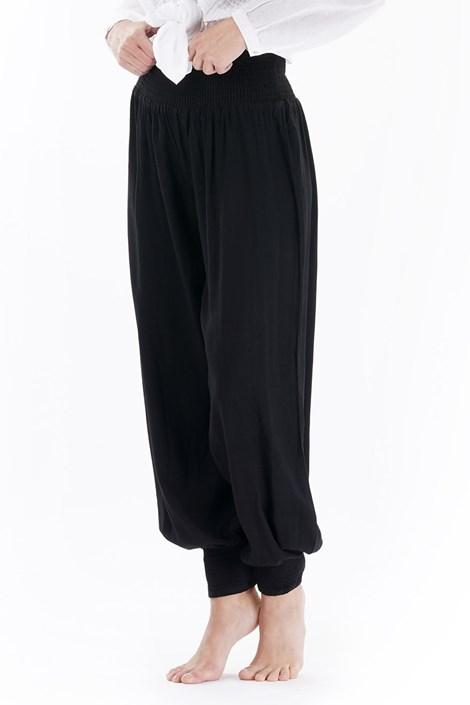 Iconique Dámské plážové kalhoty Sara černá S