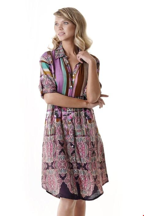 Iconique Dámské plážové šaty Jessica barevná XXL