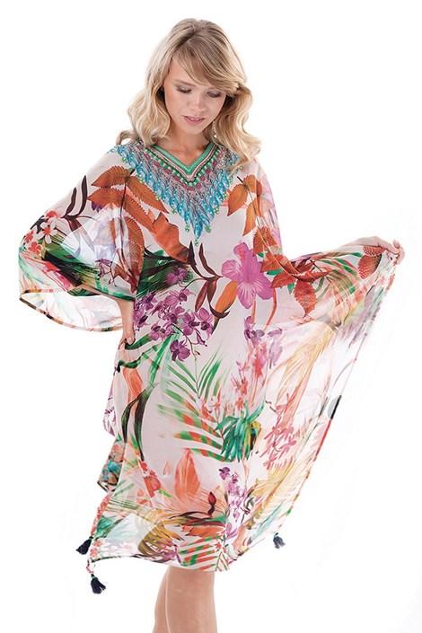 Iconique Dámské plážové šaty Jeany barevná uni